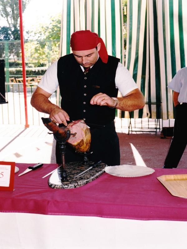 Juan Rodríguez | Cuchillo de Oro Jamón de Monesterio año 1999