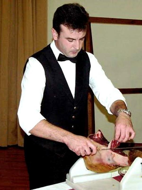 Demetrio Calderón | Cuchillo de Oro Jamón de Monesterio año 2001