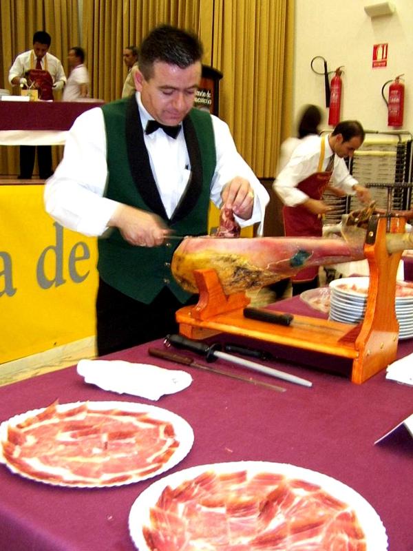 Joaquín Sánchez | Cuchillo de Oro Jamón de Monesterio año 2003