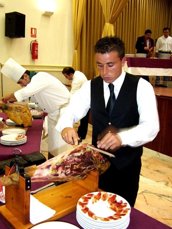 Raúl Romero | Cuchillo de Oro Jamón de Monesterio año 2004