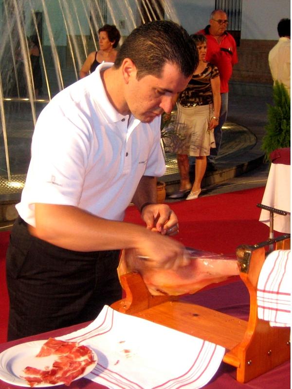 José Manuel Núñez | Cuchillo de Oro Jamón de Monesterio año 2006