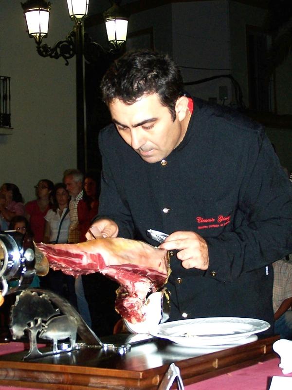 Clemente Gómez | Cuchillo de Oro Jamón de Monesterio año 2007