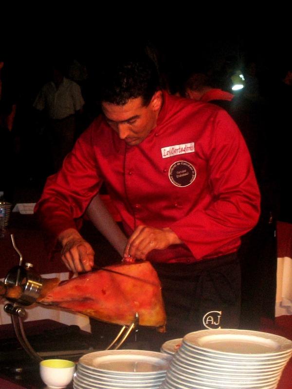 Francisco Robles | Cuchillo de Oro Jamón de Monesterio año 2008