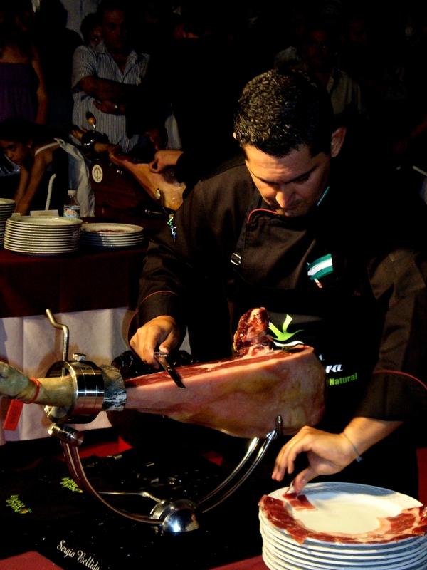 Sergio Bellido | Cuchillo de Oro Jamón de Monesterio año 2009
