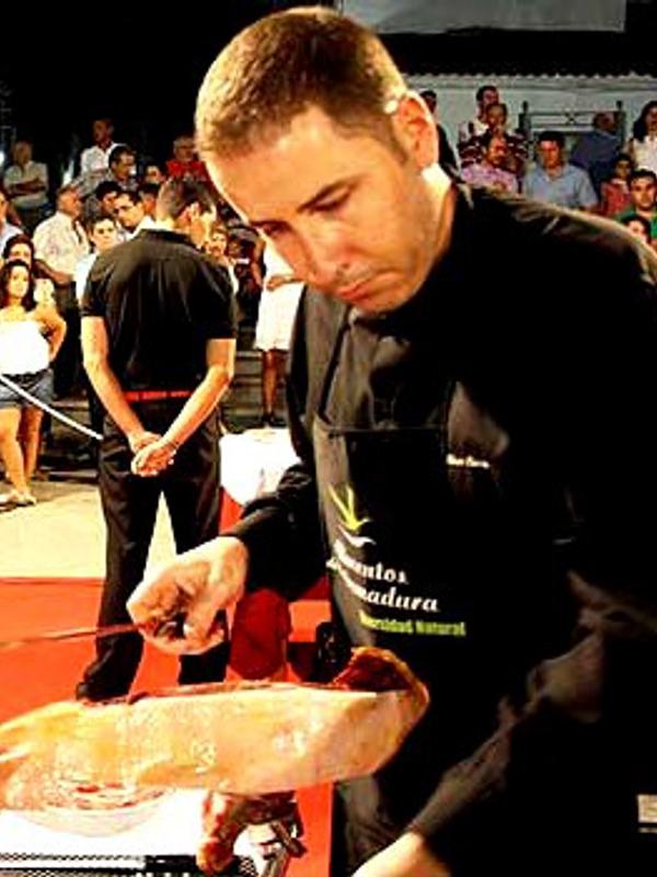 Pedro José Pérez | Cuchillo de Oro Jamón de Monesterio año 2011