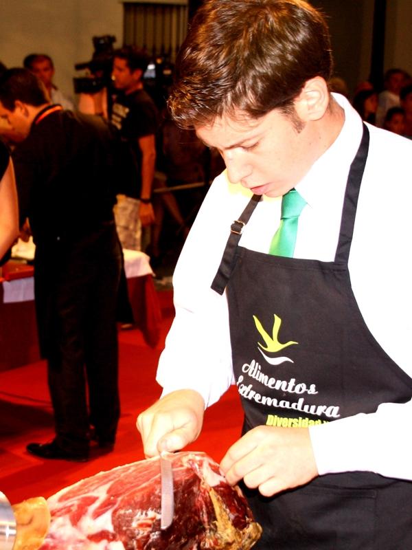Jesús García | Cuchillo de Oro Jamón de Monesterio año 2012