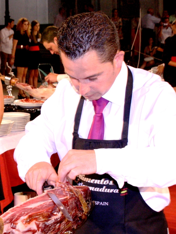 Emilio José Rubio | Cuchillo de Oro Jamón de Monesterio año 2013
