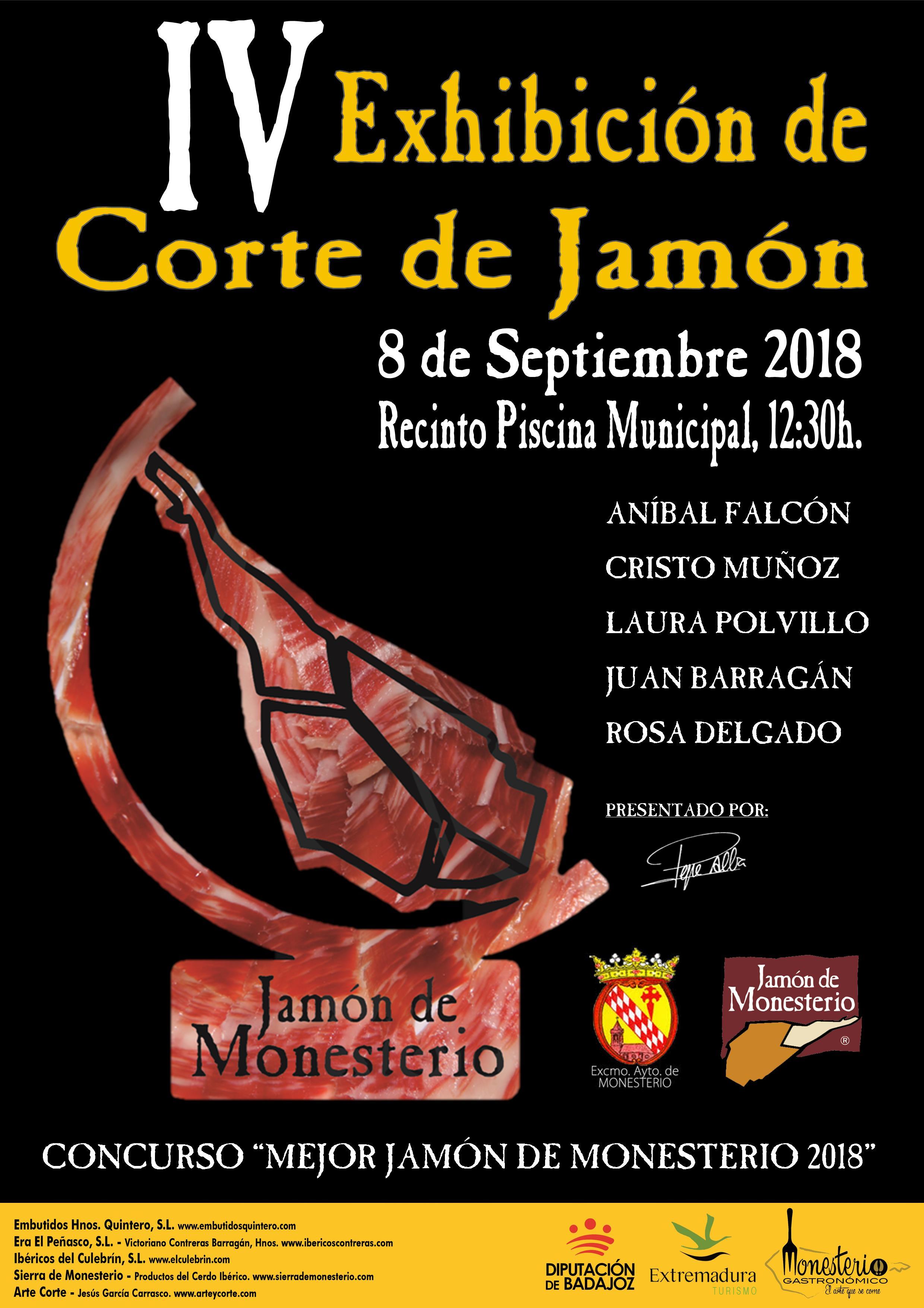 CARTEL EXHIBICIÓN CORTADORAS 2018