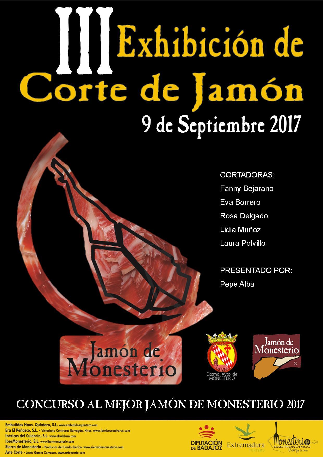 CARTEL EXHIBICIÓN CORTE 2017
